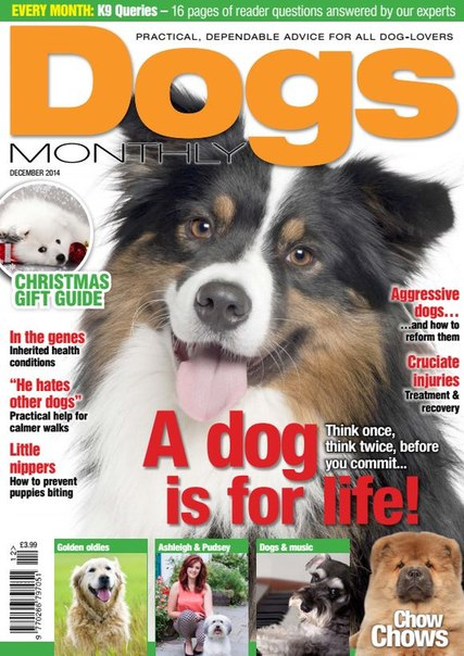 Dogs Monthly – December 2014 UK