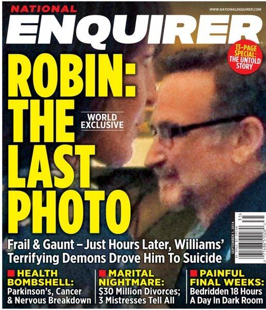 Download National Enquirer - 1 September 2014 Robin The