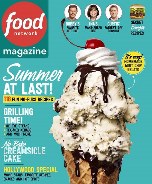 Download Food Network Magazine - June 2015
