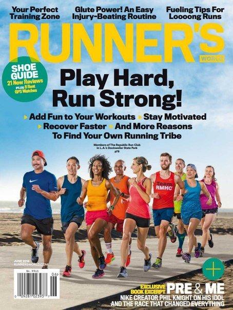 Download Runner's World - June 2016 USA