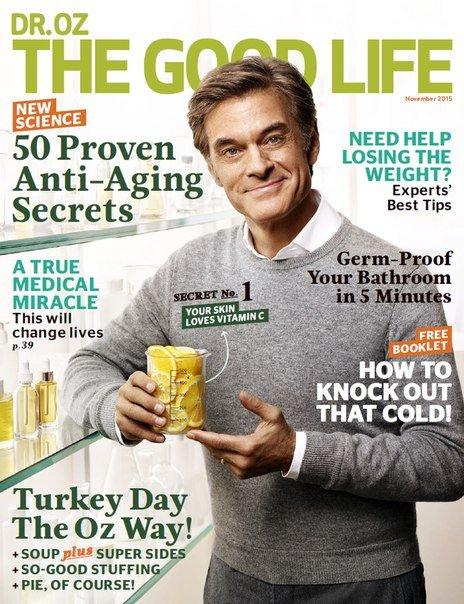 Download Dr Oz Good Life - November 2015
