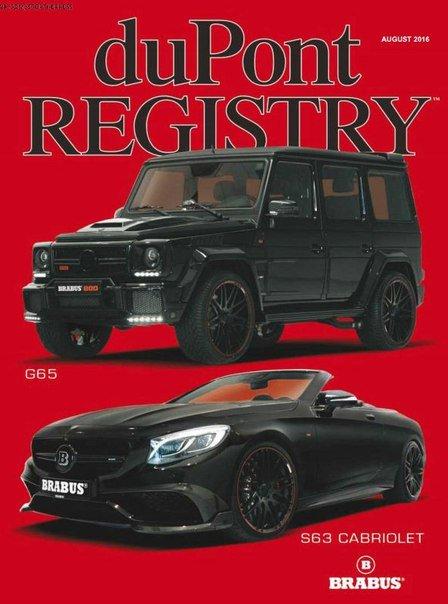 Download duPont REGISTRY - August 2016