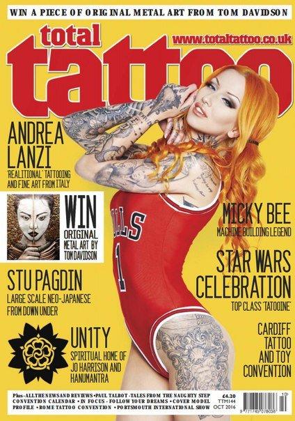 Download Total Tattoo - October 2016