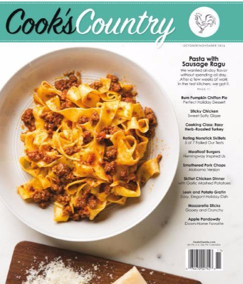 Download Cook s Country - October-November 2016