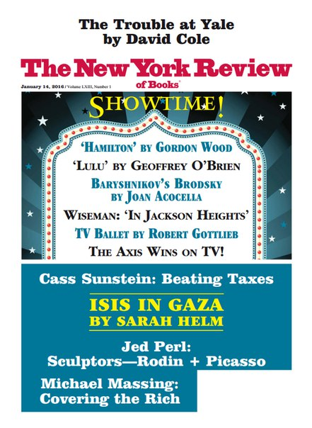 Download The New York Review of Books - January 14, 2016