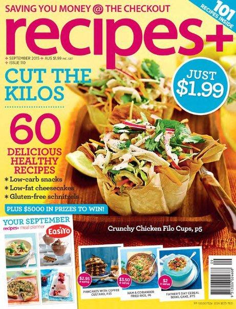 Download recipes+ - September 2015