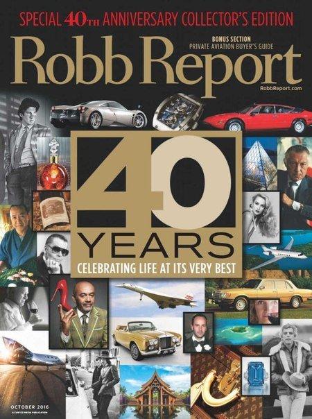 Robb Report – October 2016