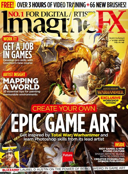 Download ImagineFX 2016-04
