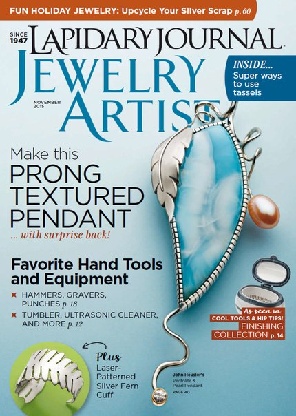 Download Lapidary Journal Jewelry Artist - November 2015 vk co stopthepress