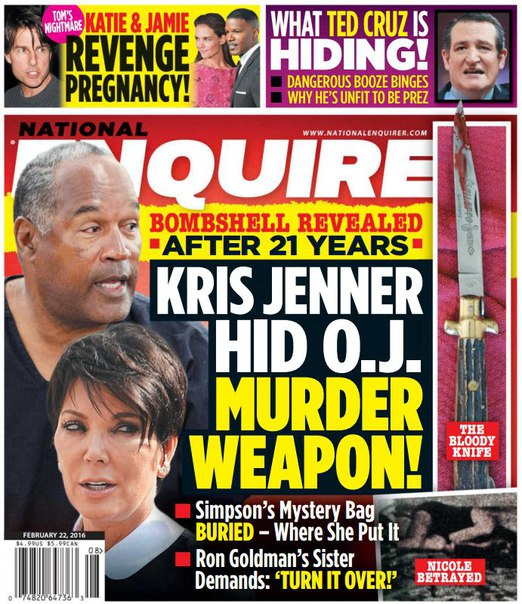 Download National Enquirer - February 22, 2016