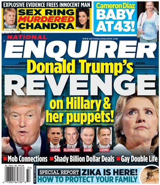 Download National Enquirer - August 15, 2016