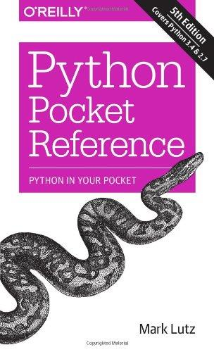 Download Python Pocket Reference (5th edition)