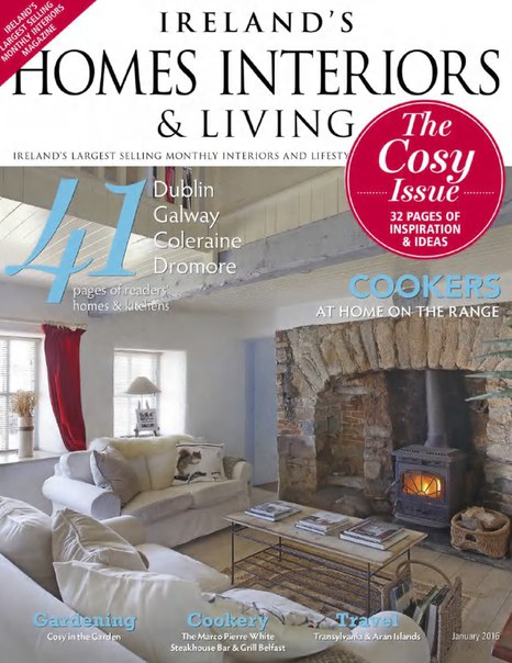 Download Ireland's Homes Interiors & Living - January 2016