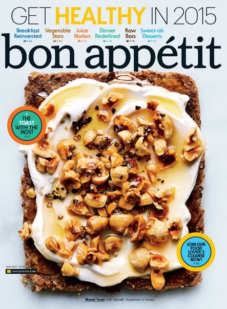 Download Bon Appetit - January 2015