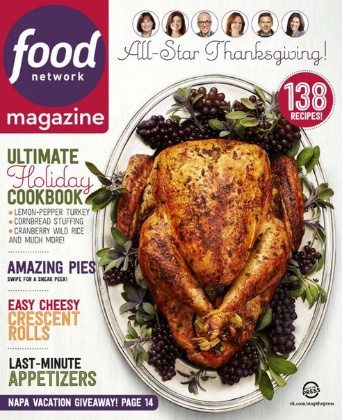 Download Food Network Magazine - November 2015