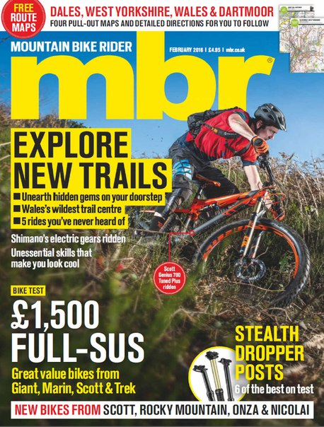 Download Mountain Bike Rider - February 2016