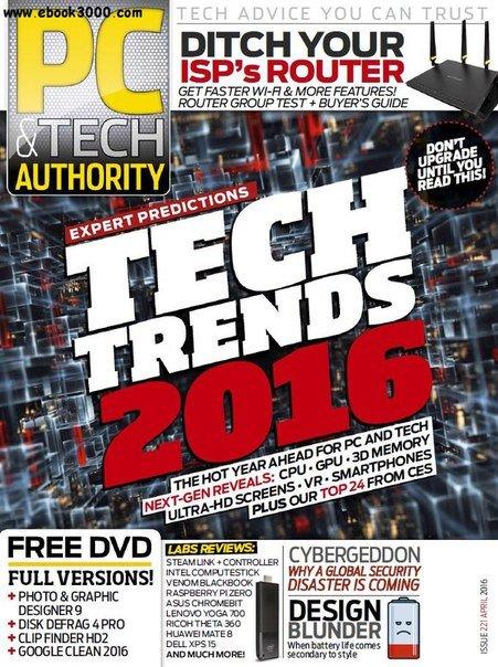Download PC Tech Authority - April 2016
