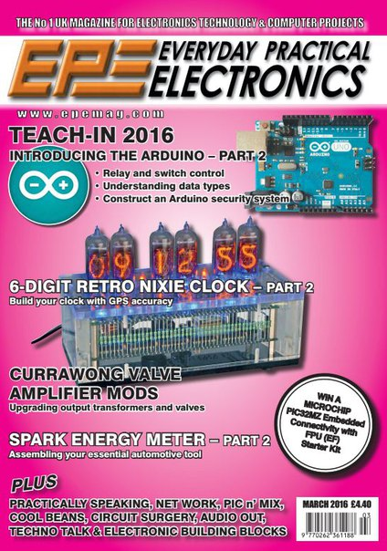 Download Everyday Practical Electronics - March 2016