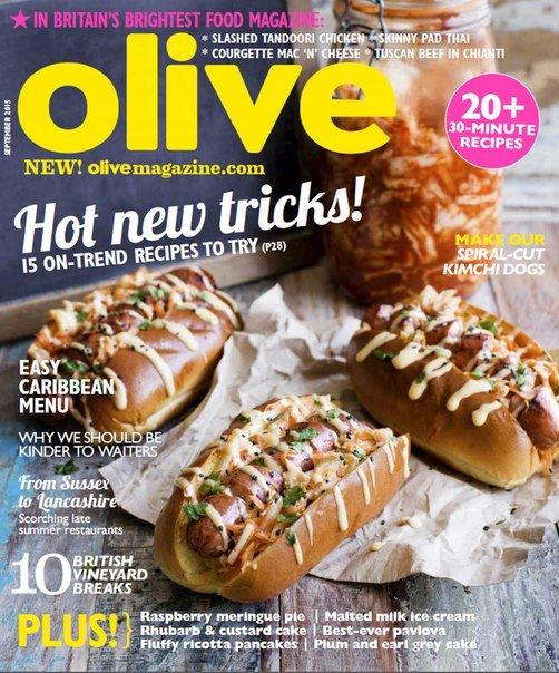 Olive Magazine – September 2015 UK