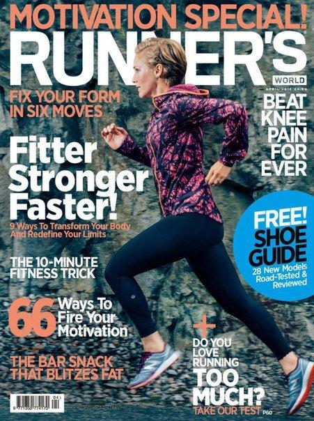 Download Runner's World - April 2016 UK