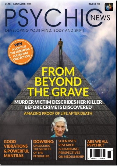 Download Psychic News - November 2015