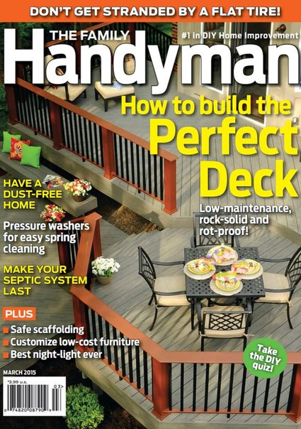 Download The Family Handyman - March 2015