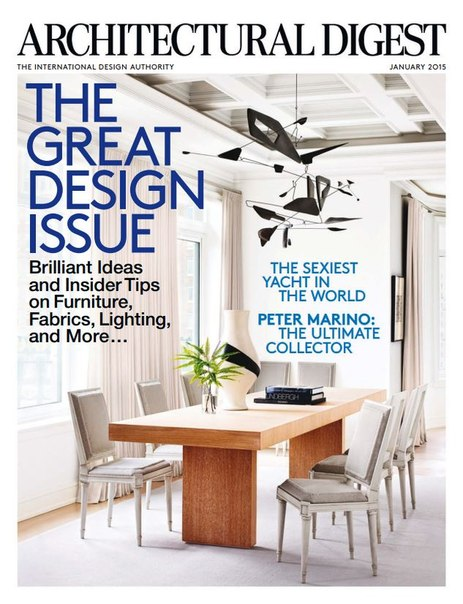 Architectural digest january 2015 usa pdf download free for Free architectural magazines