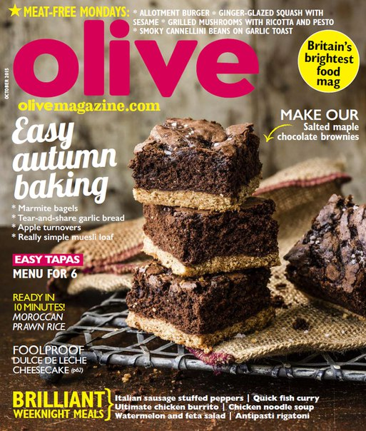 Olive Magazine – October 2015