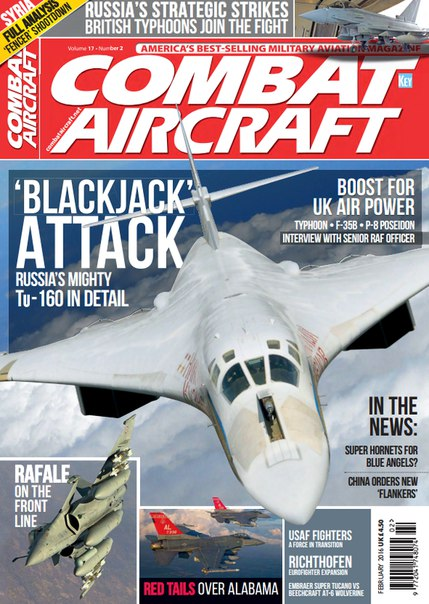 Download Combat Aircraft - February 2016
