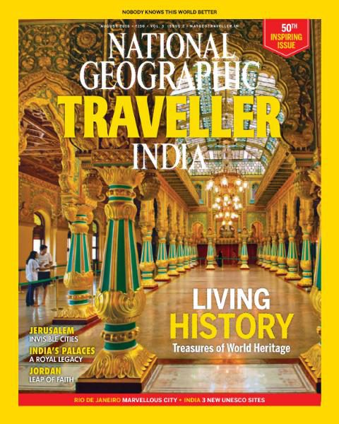 National Geographic Traveller India – August 2016