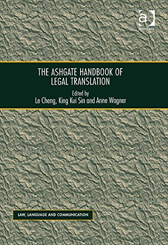 Download The Ashgate Handbook of Legal Translation-Ashgate Pub Co