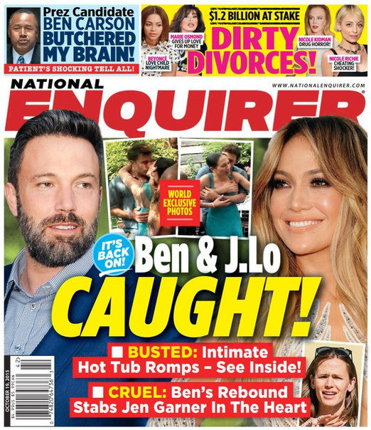 Download National Enquirer - October 19, 2015