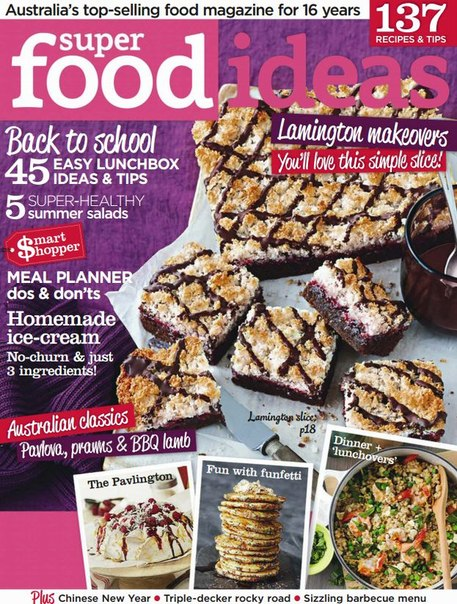 Download Super Food Ideas - January 2015 AU