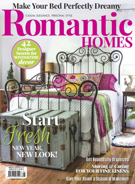 Download Romantic Homes - January 2016
