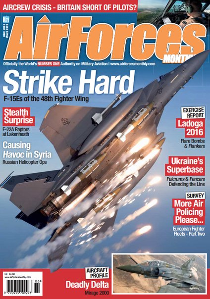Download AirForces Monthly - June 2016