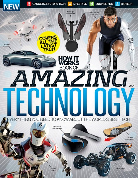 Download How It Works Book of Amazing Technology Volume 4