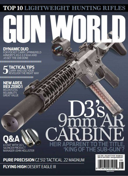 Download Gun World - August 2016