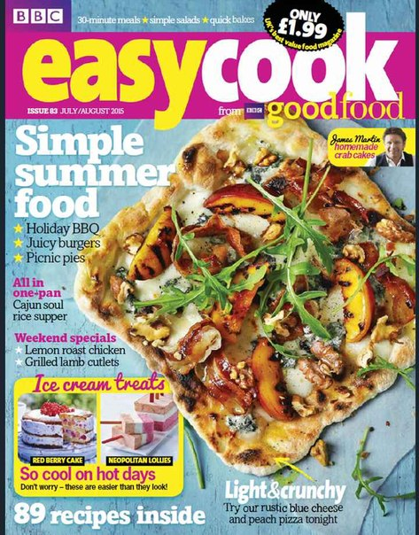 Download BBC Easy Cook – July August 2015