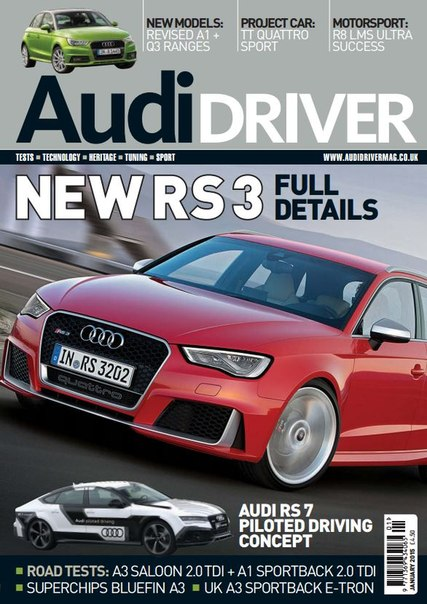 Download Audi Driver - January 2015