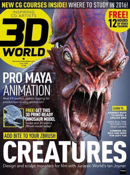 Download 3D World - June 2016