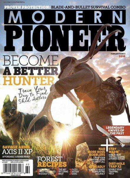 Modern Pioneer – March 2016