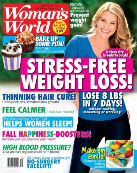 Download Woman World September 26 2016