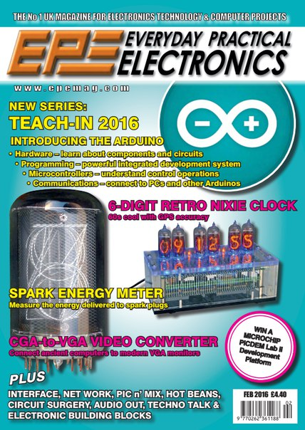 Download Everyday Practical Electronics - February 2016