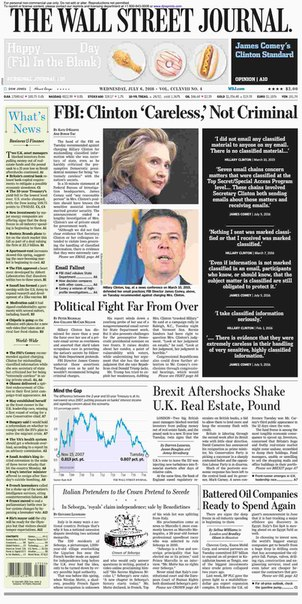 Download The Wall Street Journal July 06 2016