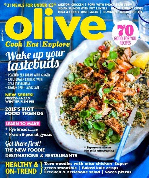 Olive Magazine – January 2015 UK