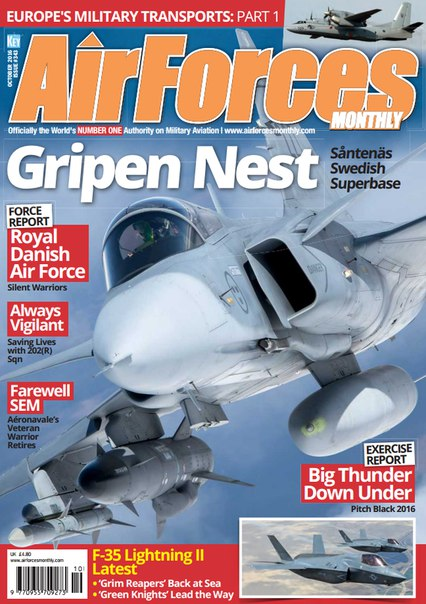 Download AirForces Monthly - October 2016