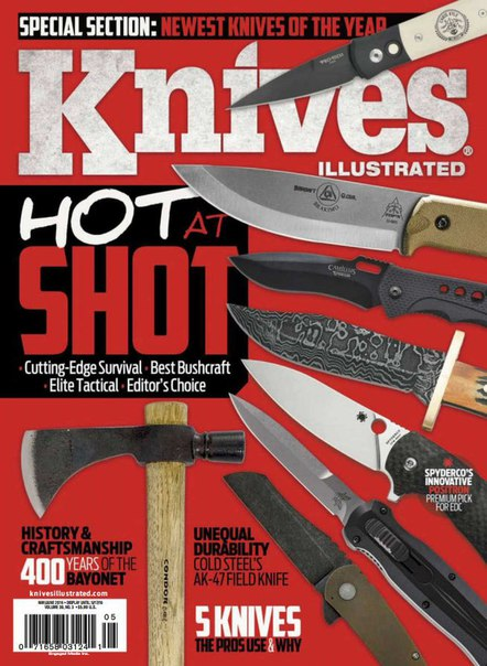 Download Knives Illustrated - May 2016