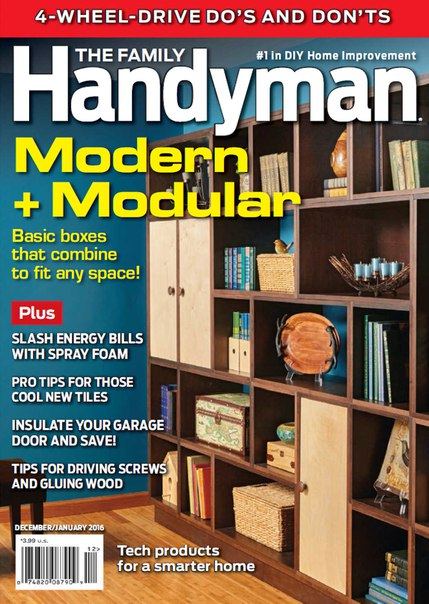 Download The Family Handyman - January 2016