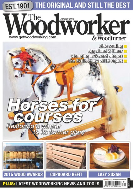 Download The Woodworker & Woodturner - January 2016