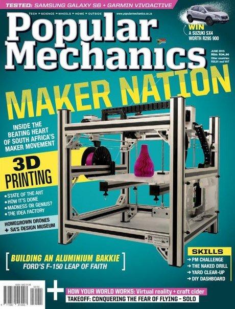 Download Popular Mechanics - June 2015 ZA